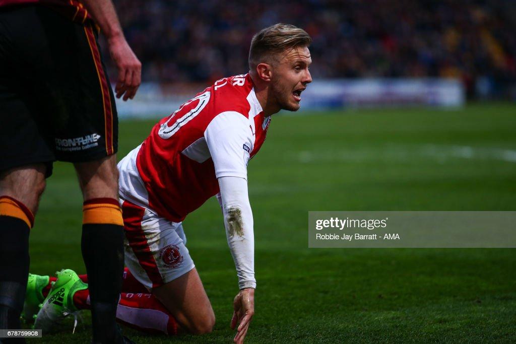 Bradford City v Fleetwood Town: Sky Bet League One Playoff Semi Final, First Leg : News Photo