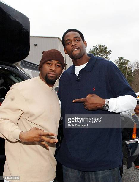 David Banner and Chris Webber during LudaChrisMiss in DeKalb County Ludacris Chris Webber and David Banner give kids a Merry Christmas at Gresham...
