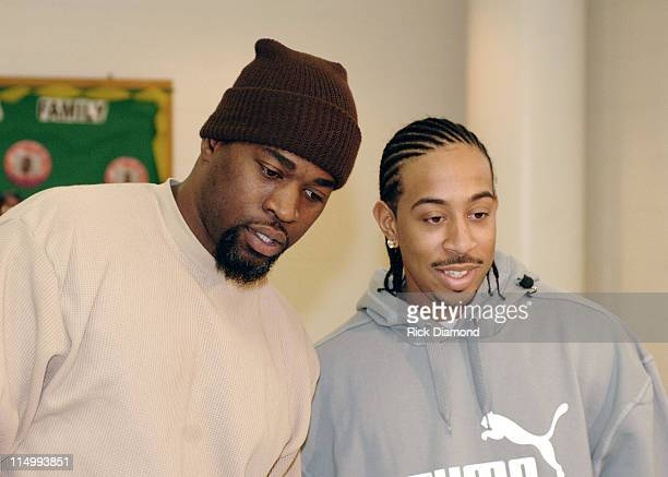 David Banner and Ludacris during LudaChrisMiss in DeKalb County Ludacris Chris Webber and David Banner give kids a Merry Christmas at Gresham Park...