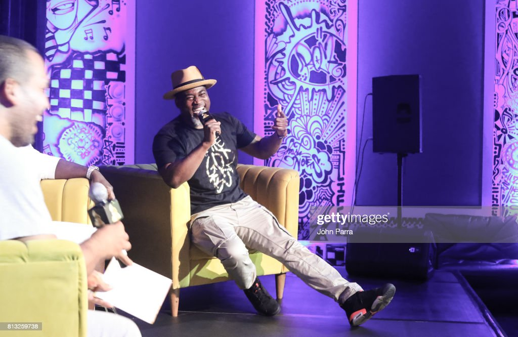 David Banner attends the Up Close & Personal with Rico Love and David Banner for The Recording Academy at Studio 26 on July 11, 2017 in Miami, Florida.