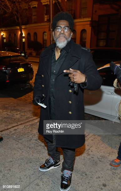 David Banner attends YouTube brings the BOOM BAP BACK to New York City with Lyor Cohen Nas Grandmaster Flash QTip Chuck D and Fab 5 Freddy on January...