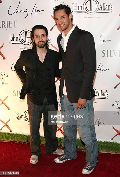 David Banshlomo and Stany Coppet during Unruly Heir Private Launch at Bar Martignettis in New York City New York United States