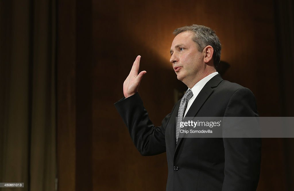 Senate Judiciary Committee Holds Nomination Hearing For David Barron To Become U.S. Circuit Judge For The First Circuit : News Photo