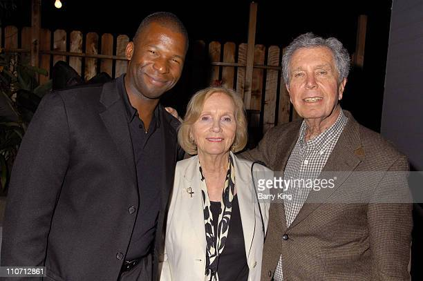 David Batiste Eva Marie Saint and Jeffrey Hayden during Jeffrey Hayden Directs Eugene O'Neill's Desire Under The Elms Opening Night Inside at Odyssey...