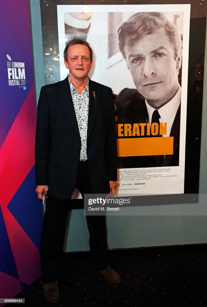 David Batty attends a screening 'My Generation' at the Curzon Chelsea during the 61st BFI London Film Festival on October 8, 2017 in London, England.