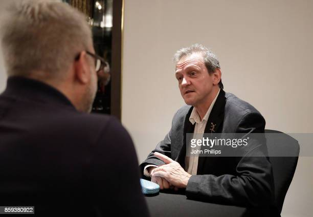 David Batty during a FilmMaker Afternoon Tea at the 61st BFI London Film Festival on October 9 2017 in London England