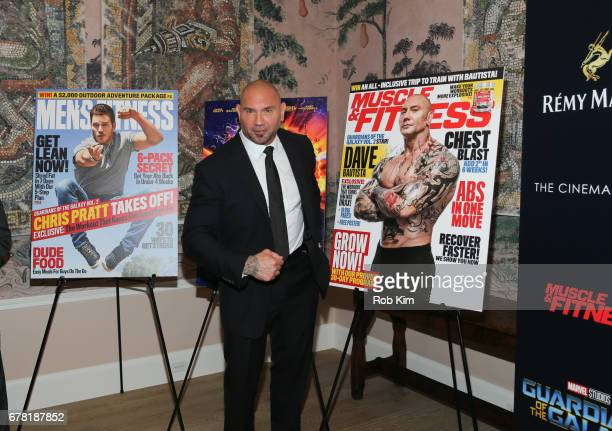 David Bautista attends the screening of 'Guardians of the Galaxy Vol 2' presented by Remy Martin at The Whitby Hotel on May 3 2017 in New York City