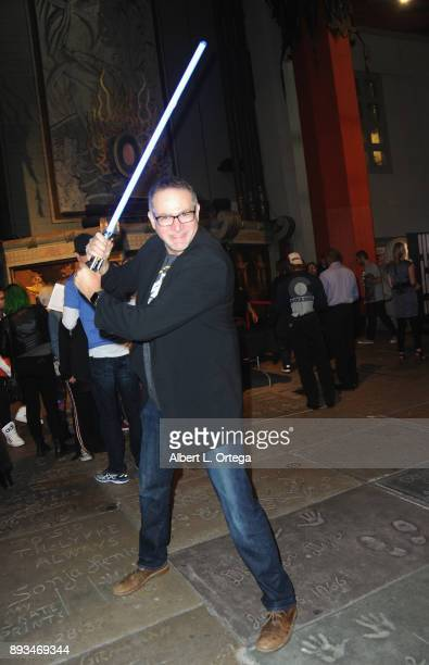 David Baxter of Legion M at the Opening Night Celebration Of Walt Disney Pictures And Lucasfilm's 'Star Wars The Last Jedi' At TCL Chinese Theatre...