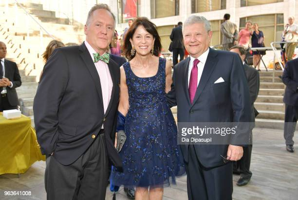 David Beach Katherine Farley and Jerry I Speyer attend Lincoln Center's American Songbook Gala at Alice Tully Hall on May 29 2018 in New York City