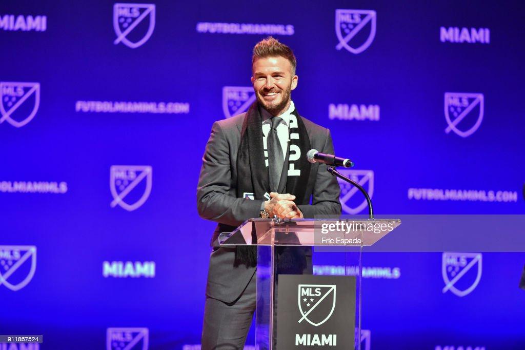 MLS Announces New Team In Miami : News Photo