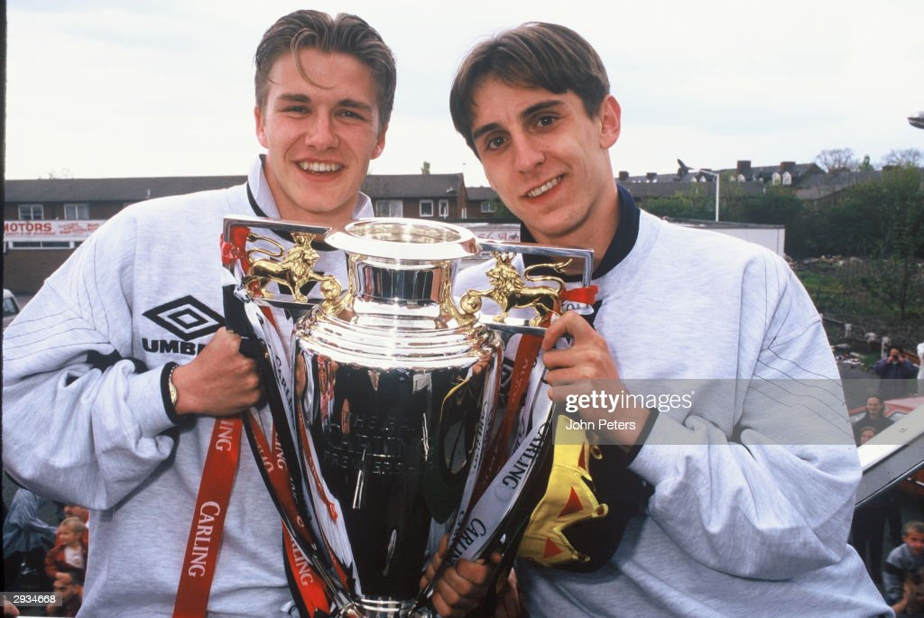 Premiership Celebration Parade 1996 : News Photo