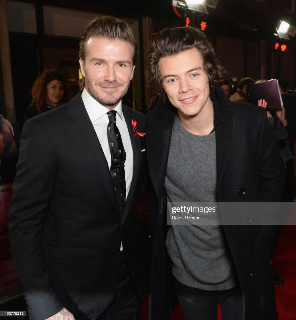 ¿Cuánto mide Harry Styles? - Altura - Real height David-beckham-and-harry-styles-attend-the-world-premiere-of-the-class-picture-id452778213