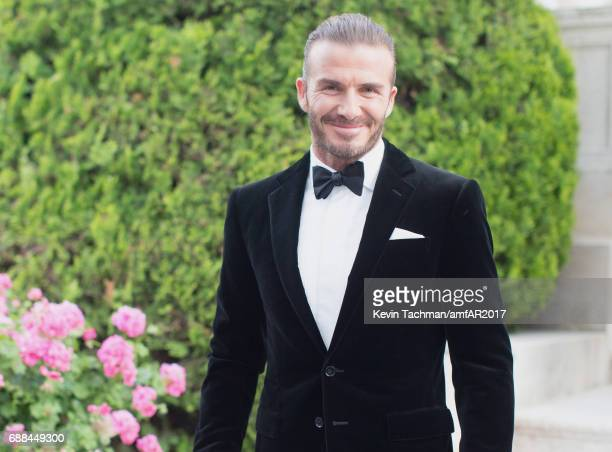 David Beckham arrives at the amfAR Gala Cannes 2017 at Hotel du CapEdenRoc on May 25 2017 in Cap d'Antibes France
