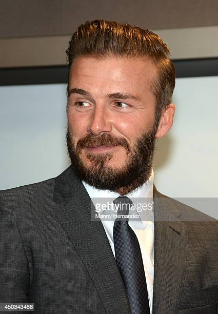 David Beckham attends a brunch at the Bond on June 8 2014 in Miami Florida