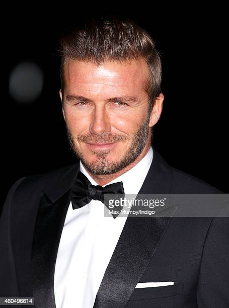 David Beckham attends A Night Of Heroes: The Sun Military Awards at the National Maritime Museum on December 10, 2014 in London, England.