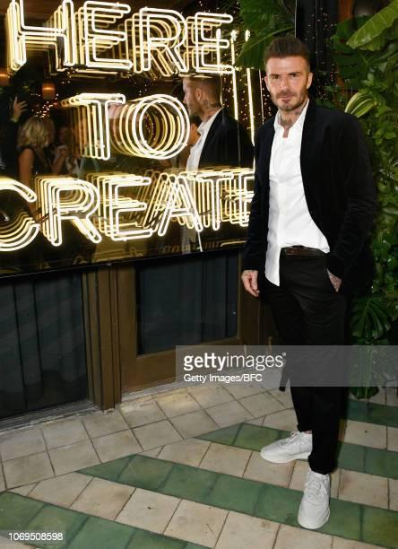 David Beckham attends Adidas Originals British Fashion Council and David Beckham host a dinner in celebration of their creative collaboration on...