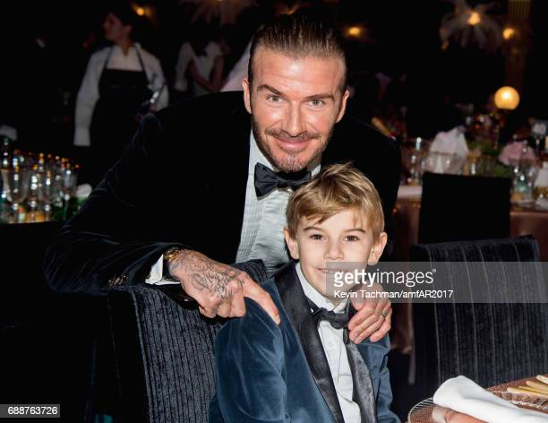 David Beckham attends the amfAR Gala Cannes 2017 at Hotel du CapEdenRoc on May 25 2017 in Cap d'Antibes France