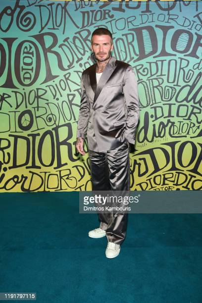 David Beckham attends the Dior Men's Fall 2020 Runway Show on December 03, 2019 in Miami, Florida.