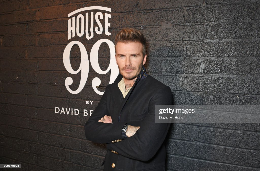 House 99 By David Beckham - Global Launch Party