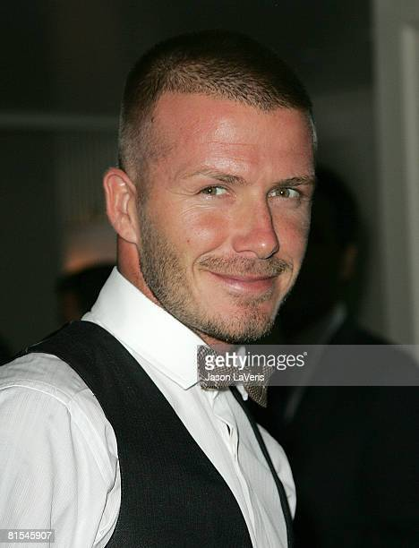 David Beckham attends the Gordon Ramsey Restaurant Opening at The London on June 4, 2008 in West Hollywood, California.