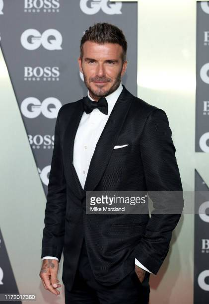 David Beckham attends the GQ Men Of The Year Awards 2019 at Tate Modern on September 03 2019 in London England