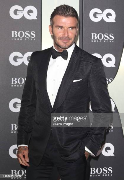 David Beckham attends the GQ Men of the Year Awards held at the Tate Modern, Bankside in London.