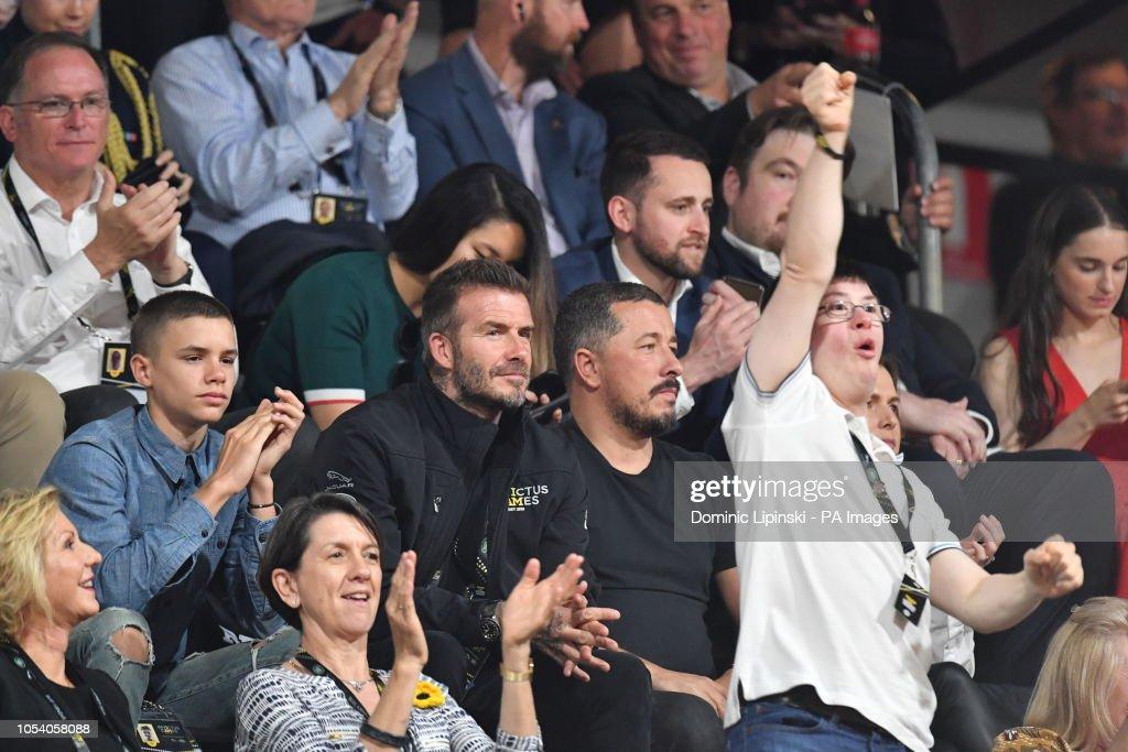 David Beckham Attends The Invictus Games 2018 Wheelchair Basketball