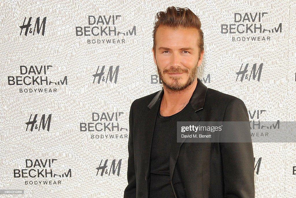 David Beckham For H&M Swimwear Private Launch : News Photo