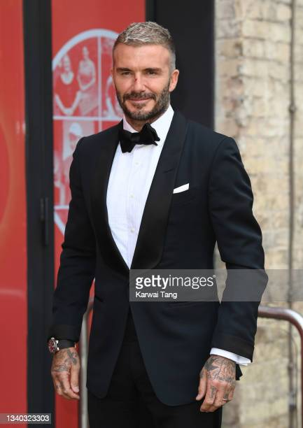 David Beckham attends the Sun's Who Cares Wins Awards 2021 at The Roundhouse on September 14, 2021 in London, England.