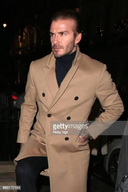 David Beckham attends Victoria Beckham Christmas Open House hosted by Victoria Beckham David Beckham and British Vogue at Victoria Beckham Dover...