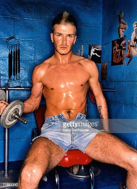David Beckham David Beckham by David LaChapelle David Beckham GQ June 1 2002