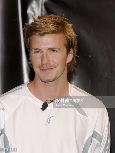 David Beckham during David Beckham and adidas Unveil the David Beckham Predator Pulse Boot and Predator Product Line at adidas Sport Performance...