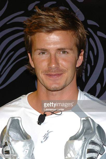 David Beckham during David Beckham and adidas Unveil the New David Beckham Predator Pulse Boot and Product Line at adidas Sport Performance Store in...