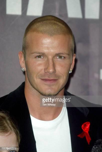 "David Beckham during David Beckham Signs Copies of his DVD ""Really Bend it Like Beckham"" at Virgin Megastore, Oxford Street in London, Great Britain."