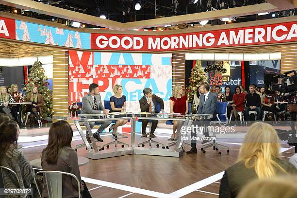 AMERICA David Beckham is a guest on 'Good Morning America' Monday December 12 airing on the ABC Television Network JESSE