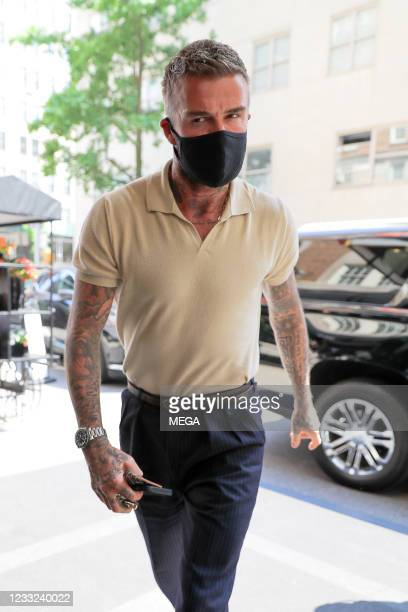 David Beckham is seen on May 26, 2021 in New York City, New York.