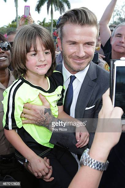 David beckham beach pictures and photos getty images david beckham is sighted at kendall soccer park during a meet and greet with youth soccer m4hsunfo