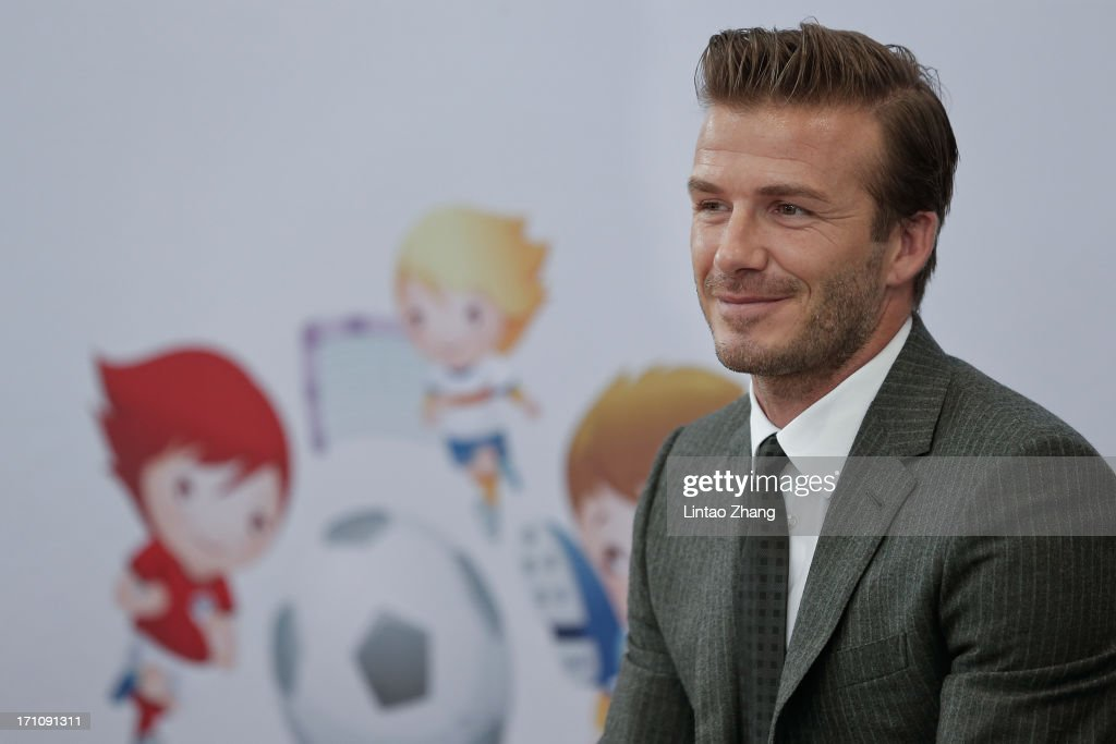 David Beckham Visits China - Day 6 : News Photo