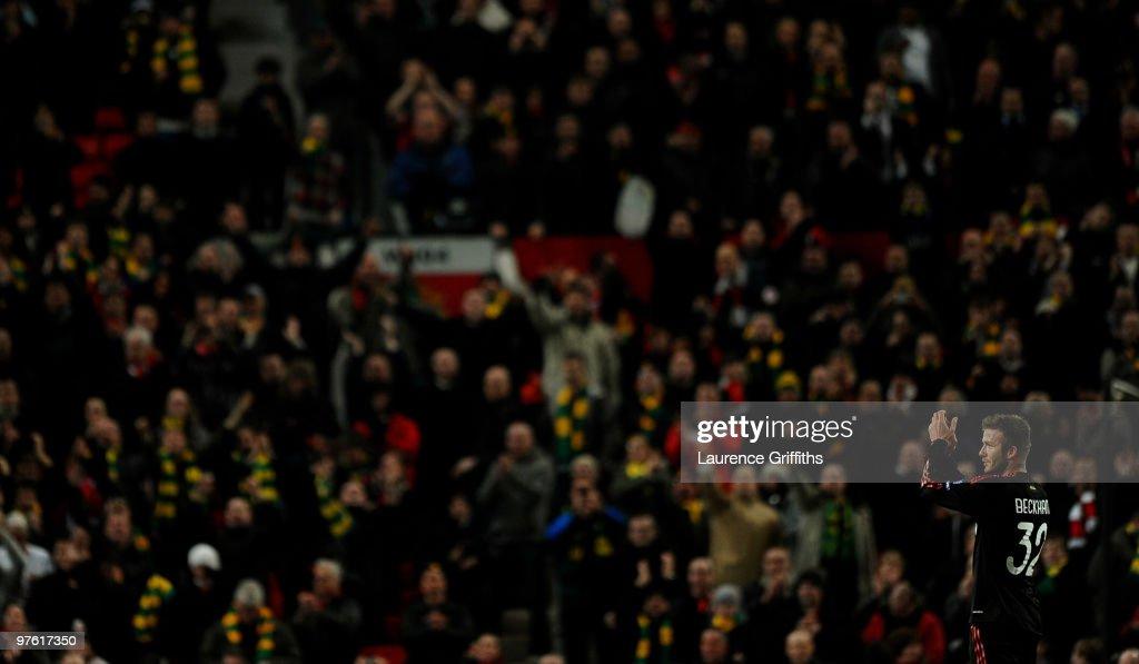 Manchester United v AC Milan - UEFA Champions League : Nieuwsfoto's