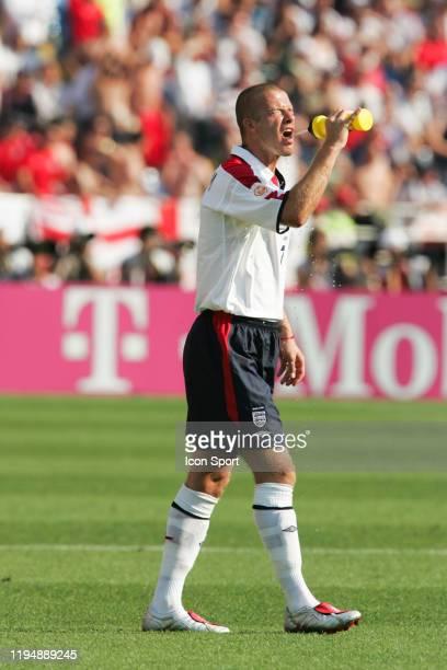 David BECKHAM of England during the European Championship match between England and Switzerland at Estadio Cidade de Coimbra, Coimbra, Portugal on 17...