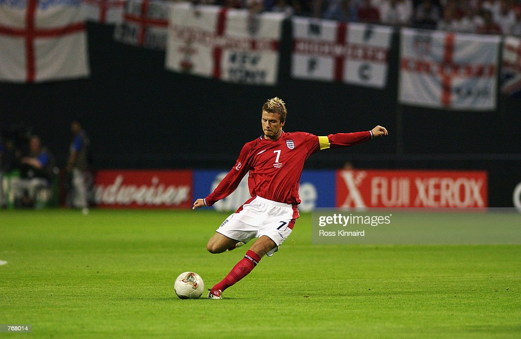 David Beckham of England : News Photo