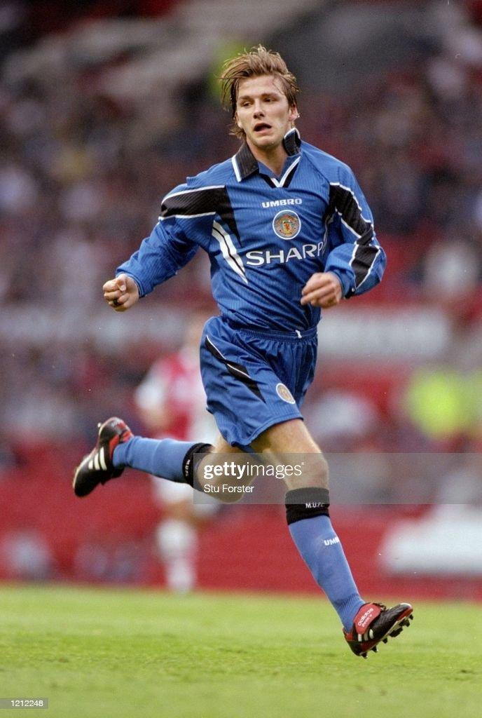 David Beckham of Manchester United : ニュース写真