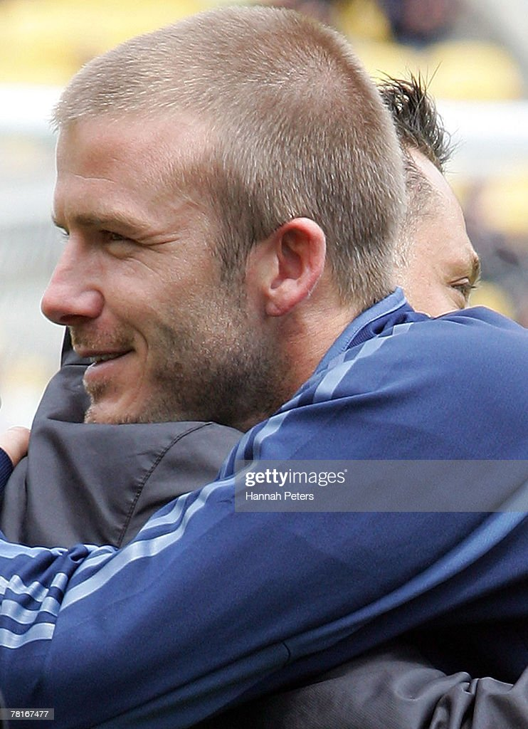 LA Galaxy Training Session Photos And Images Getty Images - David beckham hairstyle la galaxy
