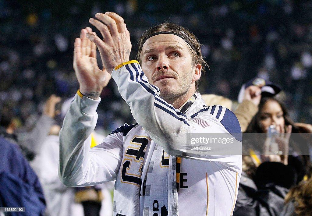 2011 MLS Cup - Houston Dynamo v Los Angeles Galaxy : News Photo