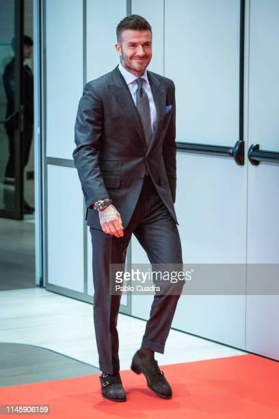David Beckham presents Tudor New Collection at Hotel VP Plaza España Design on April 29, 2019 in Madrid, Spain.