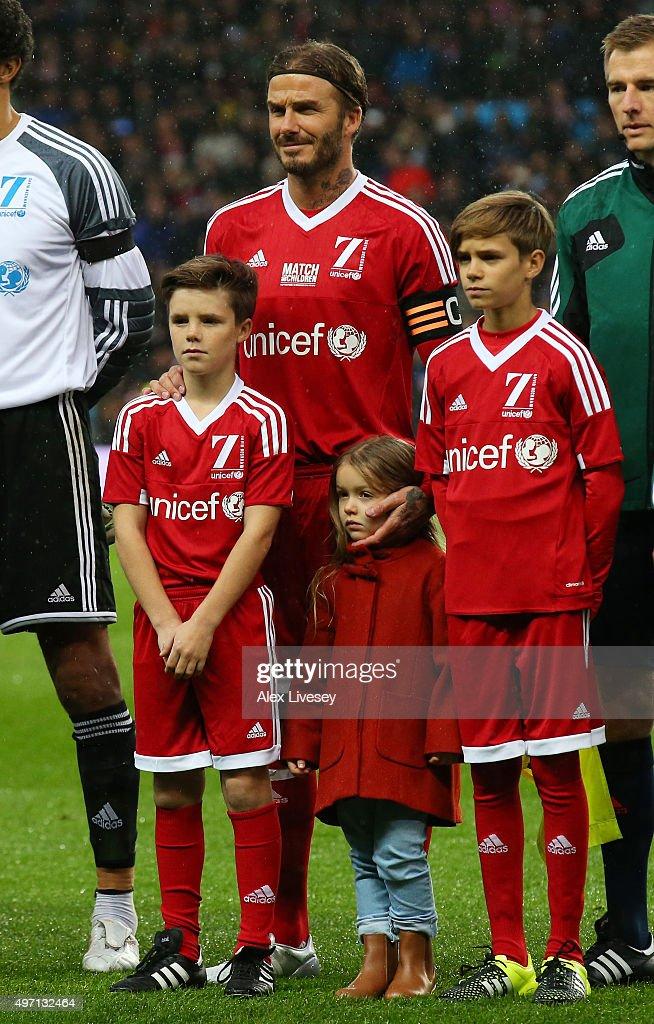 David Beckham Match for Children in aid of UNICEF