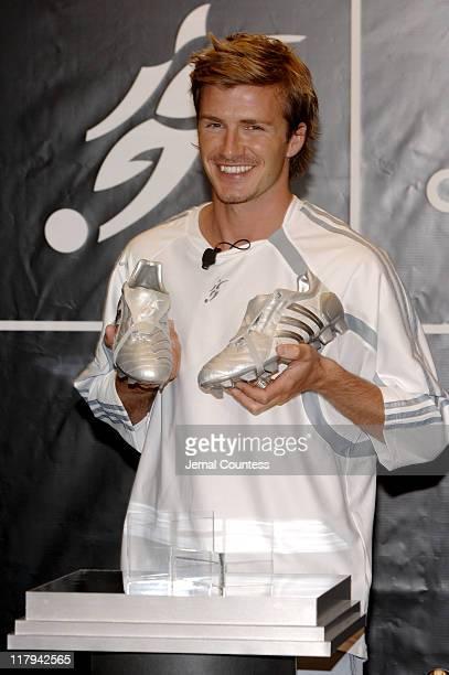 David Beckham unveils the David Beckham Predator Pulse Boot