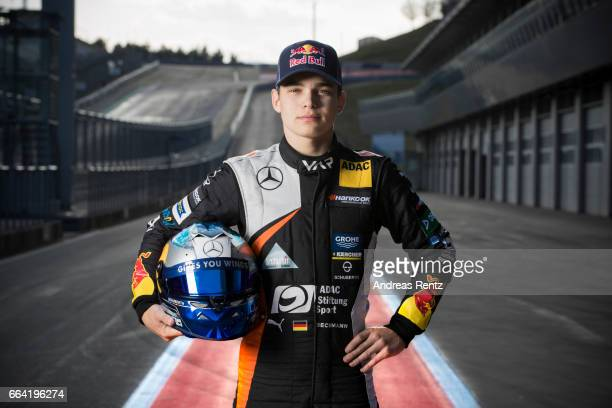 David Beckmann of Germany and Van Amersfoort Racing poses for a portrait during the official testdays FIA F3 European Championship at Red Bull Ring...