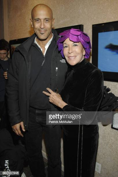 David Belafonte and Julie Belafonte attend CHAIR AND THE MAIDEN SHARI BELAFONTE Presents MYTHOSTORIES at CHAIR AND THE MAIDEN on February 12 2009 in...