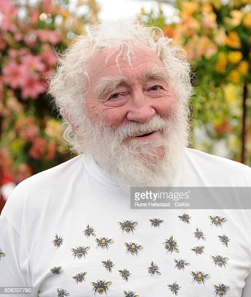 David Bellamy attends the Chelsea Flower Show at The Royal Hospital Chelsea